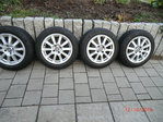 4 JANTES ALU ROUES COMPLETES  RENAULT  CLIO 2