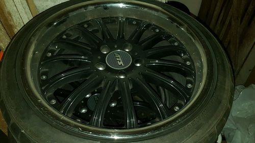 "4 JANTES ALU ROUES COMPLETES 18"" CHRYSLER VOYAGER DODGE JEEP"