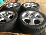 "4 JANTES ALU ROUES COMPLETES BMW 17"" KIT HIVER TOP SERIE 7 6 5[2]"