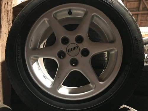 "4 ROUES COMPLETES JANTES ALU OPEL 15"" KIT HIVER"