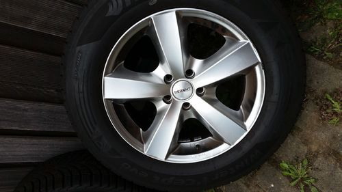 "4 JANTES ALU ROUES COMPLETES 17"" FORD JAGUAR LAND ROVER VOLVO HIVER TOP"