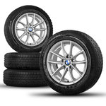 "4 JANTES ALU ROUES COMPLETES BMW 17"" KIT HIVER TOP SERIE 7 6 5[4]"